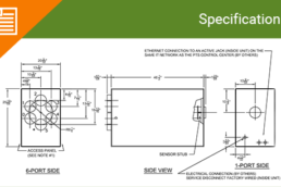Diverter 6 Port with Ethernet